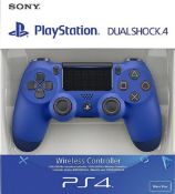 Sony Ps4 DualShock Wireless Controller Ð Blue. (RRP £49.99) Tested Ð Appears To Operate As...