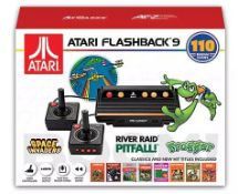 Atari Flashback 9 Games Console - 110 Built In Games. (RRP £85) Tested Ð Appears To Operate ...