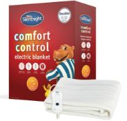 2 X Silentnight Double Comfort Control Electric Blanket. New, Sealed Product. No Guarantee Or W...