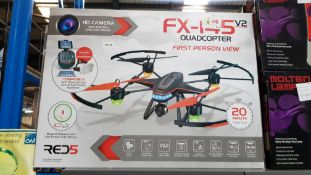 3 X Red5 Fx-145 V2 Quadcopter FPV