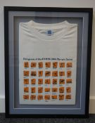 Athens 2004 Olympics signed T shirt