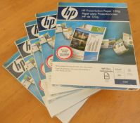 5 x HP Genuine 120g Presentation Paper.