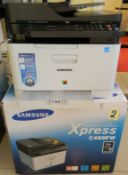 Samsung Xpress C480FW Colour Laser Multifunctional Printer (Like New)