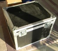 Flight case Black (Approx. LxWxH 56 x 49 x 42cm)
