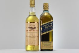 Johnnie Walker Blue Label And Old Pulteney