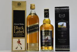 Johnnie Walker Black Label And Famous Grouse