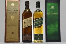 Johnnie Walker Gold And Green