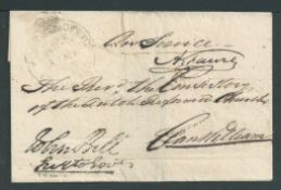 Cape of Good Hope c1830 On Service wrapper with GPO Cape Town cods to Clanwilliam, with a superb imp