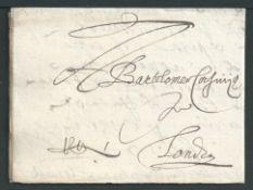Belgium Antwerp 1600 Entire letter dated September 1600 from merchants Giuseppe Lorenzo Arnolfini an
