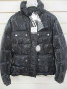 Brand new Belstaff 721616 harrier down blouson padded ladies jacket s44 RRP 400 approx.