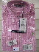 Brand new Ralph Lauren Chelsea shirt size 8 RRP £60
