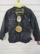 Brand new Belstaff original trialmaster wax coated jacket black prince range size 42