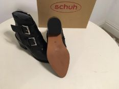 Brand New Schuh Ladies Leather Boots - Cody Model Size EU 41 / UK 8
