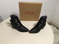 Brand New Schuh Ladies Leather Boots - Cody Model Size EU 38 / UK 5