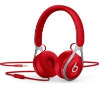 rrp £89.99 beats ep on-ear headphones-red