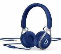 rrp £89.99 beats ep on-ear headphones -blue