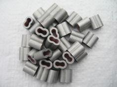 2000 x 4mm aluminium ferrule (af04)