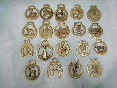 19 Horse Brass Bundle