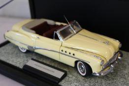 Franklin Mint Diecast 1949 Buick Roadmaster Convertible