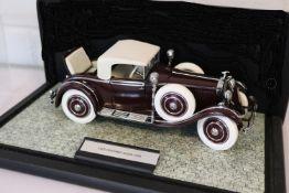 Franklin Mint Diecast 1925 Hispano-Suiza H6B