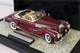 Franklin Mint Diecast 1957 Mercedes 300 Sc