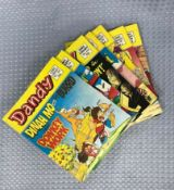 Collection Of Dandy Comic Books