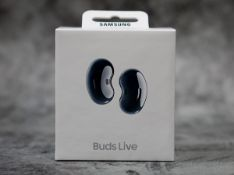 new samsung galaxy buds live wireless earbuds mystic black rrp £199