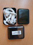 4 x samsung galaxy eg920bw earphones with carry box rrp £80