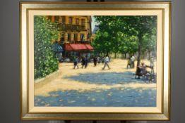 Original Oil on Canvas by John Mackie