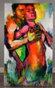 Stunning Very Large (6ft) Original Painting by Adrian Torres