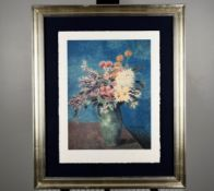 """Limited Edition by Pablo Picasso """"Vase of Flowers"""""""