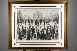 """""""The Prayer Meeting"""" Limited Edition by L.S. Lowry"""