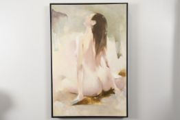 Nude Painting in Box Frame