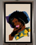 Rare Signed Limited Edition Silkscreen by Andy Warhol.