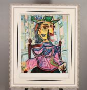"""Pablo Picasso Limited Edition. """"Seated Portrait of Dora Maar, 1939"""""""
