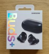 new sealed samsung galaxy buds+ wireless earbuds black rrp £249