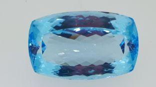 95 ct Loose Blue Topaz Gemstone