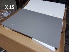 BS143 - 15 x Large Dark Grey Panels RRP £600
