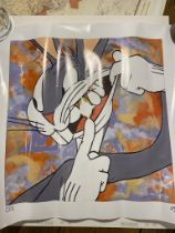 The Wacky Wabbit Limited Edition Print RARE