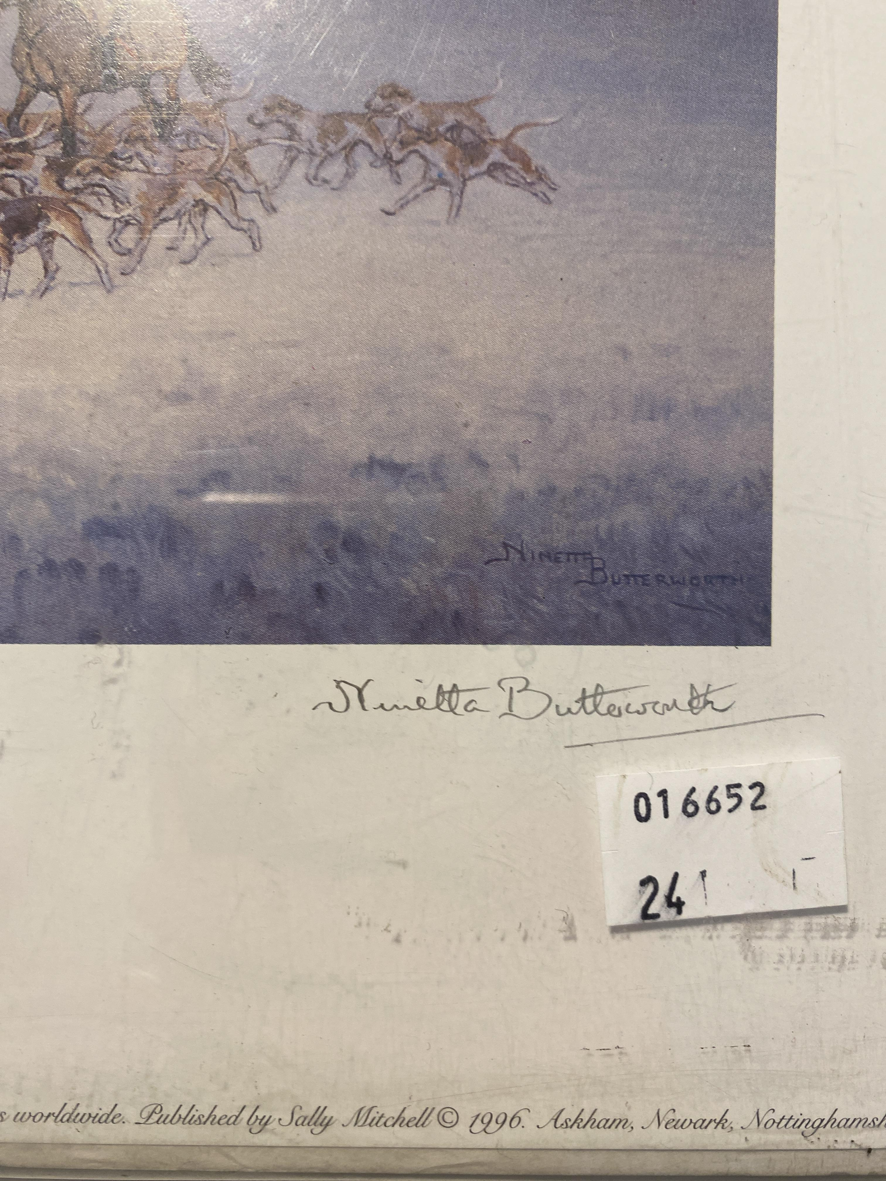 Morning Exercise Limited Edition Print By Ninetta Butterworth - Image 2 of 4