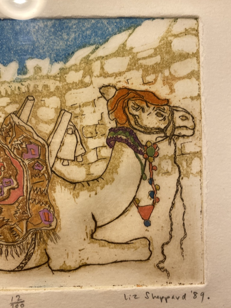 Bodrum Camel By Liz Sheppard Limited Edition 1989 - Image 6 of 6