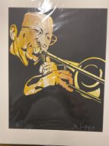 Del Southon George Masso Spectacles Limited Edition Silk Screen 79.