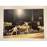 Challenge Martini EprŽe By Liz Hoque Signed Limited Edition Print