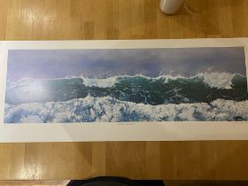 Tony Chance Limited Edition Print 'The Long Wave'. 2002. RARE