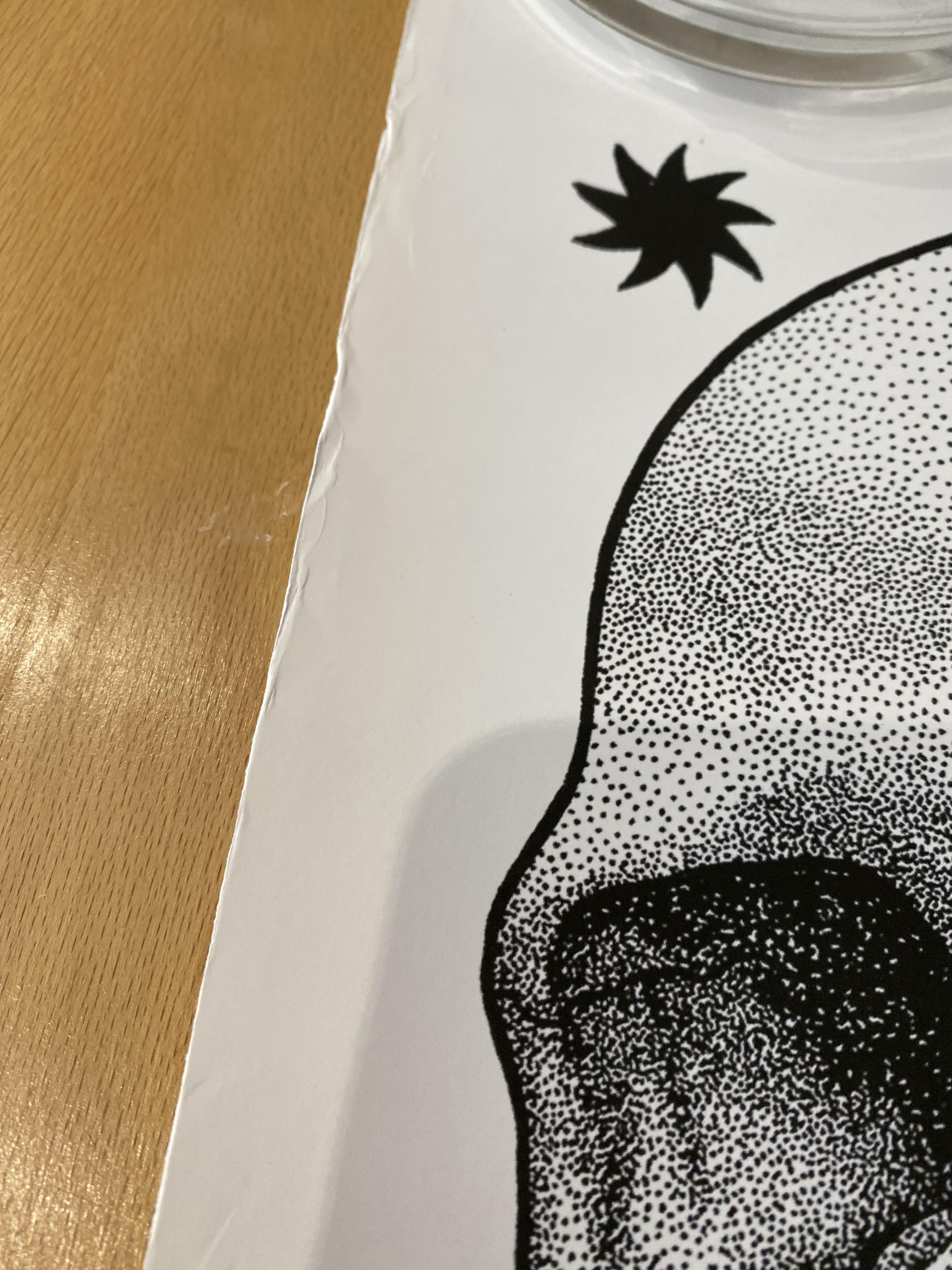 Cack Handed Kid A3 Limited Edition Print plus two posters - Image 11 of 11