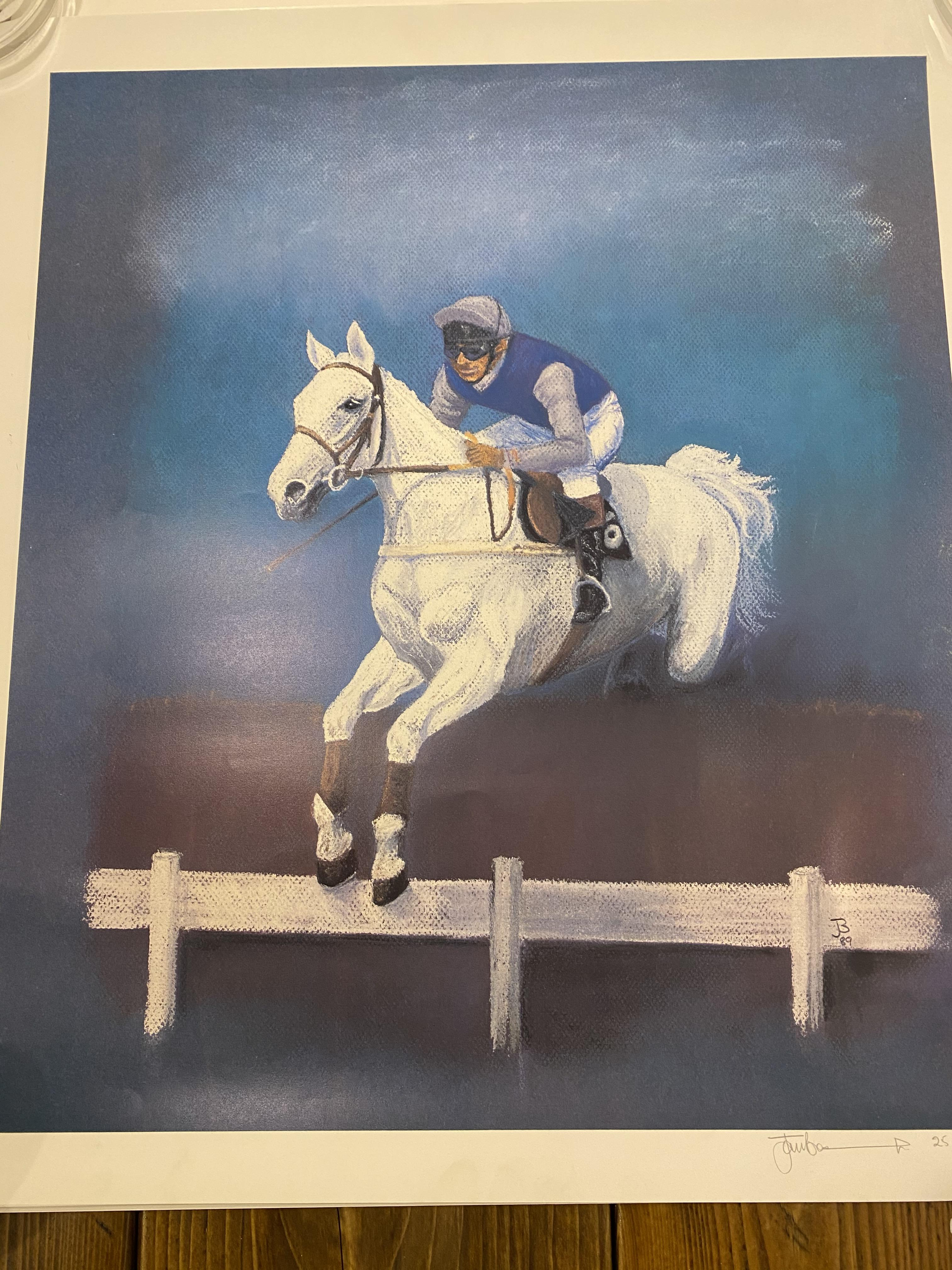 Desert Orchid Limited Edition Print by J.F.Beaumont #38/250 1989