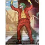P B Mahoney Art, Joker Simpson, Moeker A3 Limited edition print