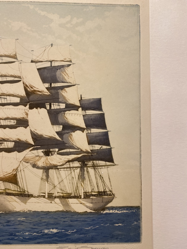 Simon SwinField Signed Print The Intrepid And The Smalls - Image 6 of 9