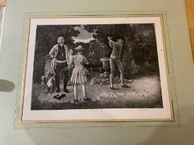 Lawrence Jossett Signed Prints, The Last Green. & The Practice Shot