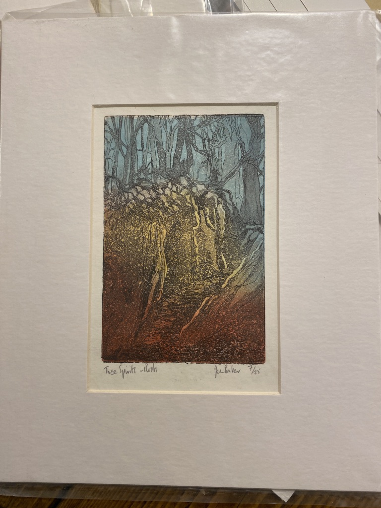 Three Tree Spirits By Jean Bowker Limited Edition Prints